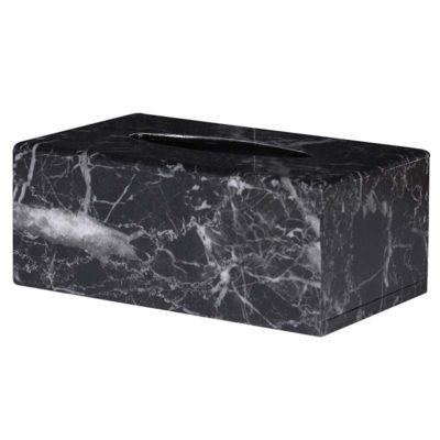 Marble Effect Tissue Box Holder