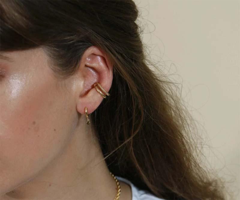 Double Ear Cuff Gold