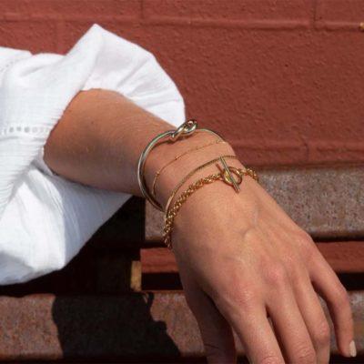 Chunky Rope T Bar Bracelet
