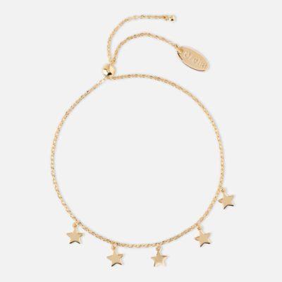 The Five Stars Gold Bracelet