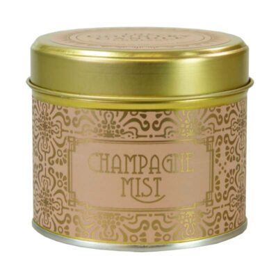 Happy Hour/ Champagne Mist Tin Candle
