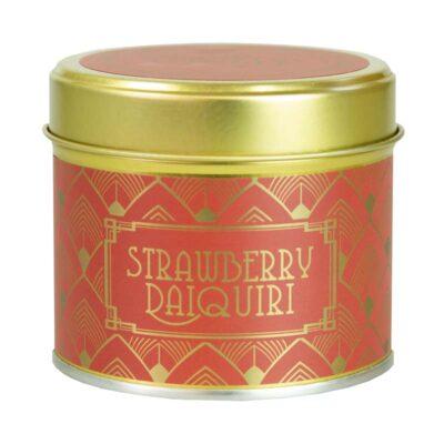 Happy Hour/ Strawberry Daiquiri Tin Candle