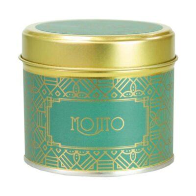 Happy Hour/ Mojito Tin Candle