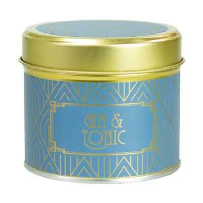 Happy Hour/ Gin & Tonic Tin Candle