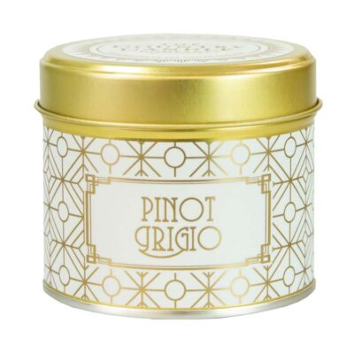 Happy Hour/ Pinot Grigio Tin Candle