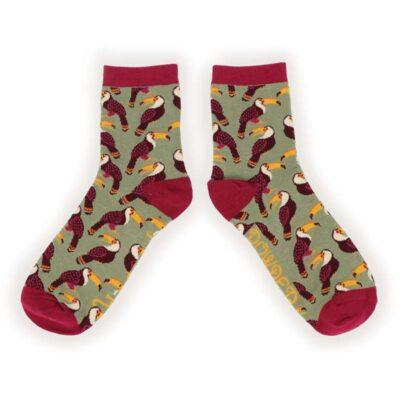 Tiny Toucans Socks