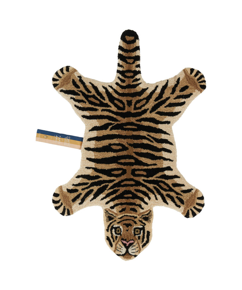 Drowsy Tiger Rug Small Front Doing Goods 1.45.10.004.700.3 White Web