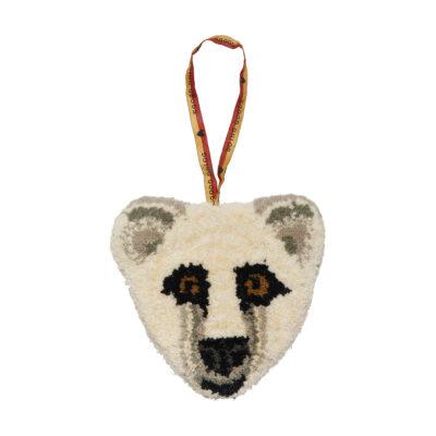 Kasbah Polar Bear Gift Hanger Front Doing Goods 1.45.10.043.020.3 White Web