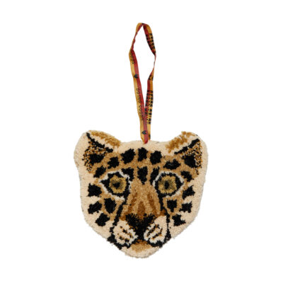 Loony Leopard Cub Hanger Front Doing Goods 1.45.10.031.700.3 White Web