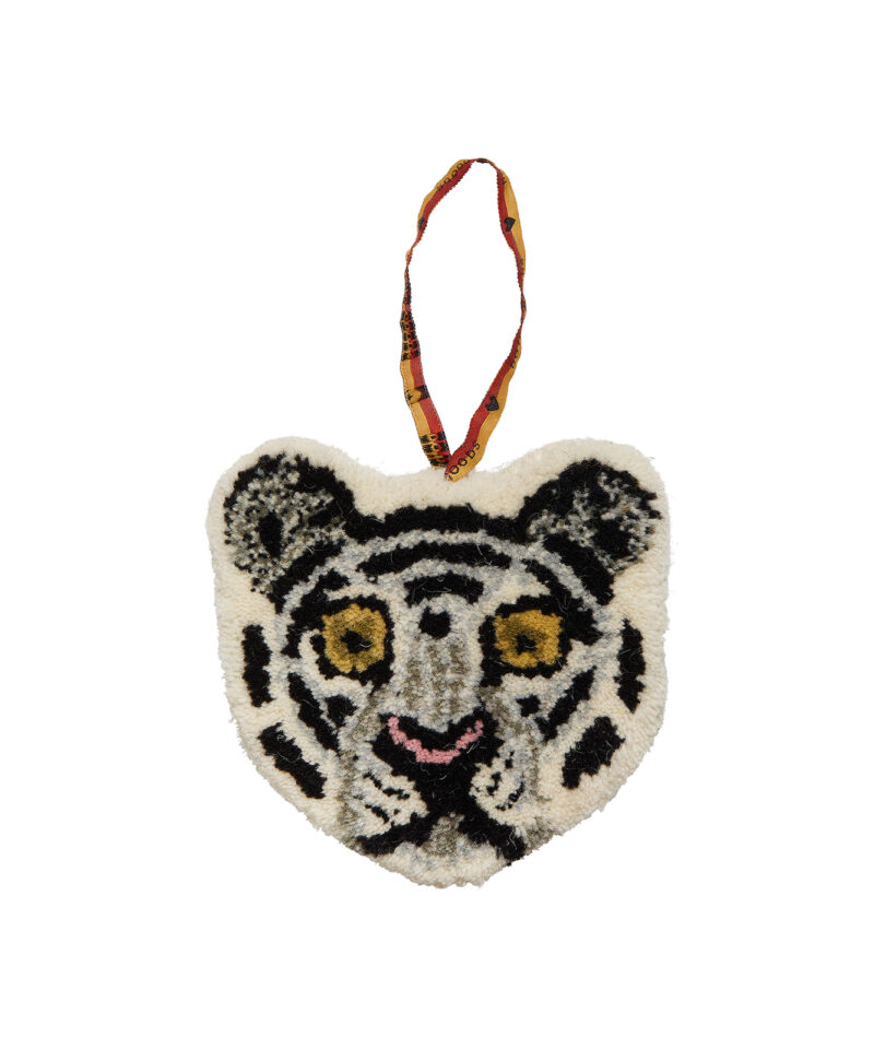 Snowy Tiger Cub Hanger Front Doing Goods 1.45.10.061.020.3 White Web