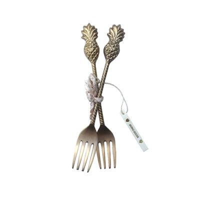 1.30.10.007.921.4 Poppy Pineapple Fork Set Of 2 Web